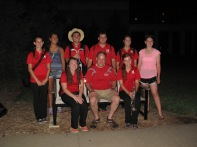 Former Burke Students in 2014 UNL Marching Band
