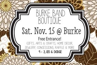 Burke Band Boutique 2014