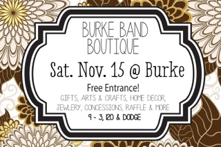 Burke Band Boutique 2014