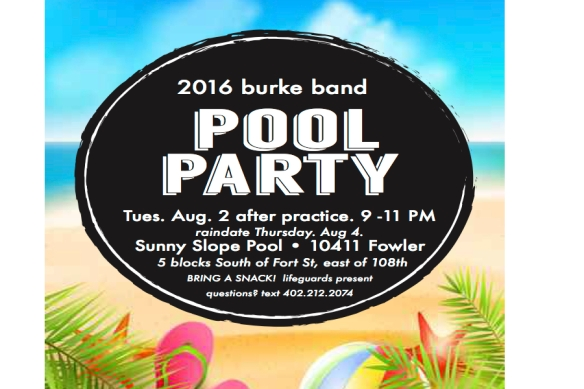 pool party burke band 2016
